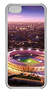 Creative GOOD 5C Case, iPhone 5C Case, Personalized Hard PC Clear Shoockproof Protective Case Cover for New Apple iPhone 5C - London Olympics 2012