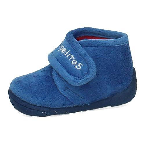 ANGELITOS 130 BOTÍN DE CASA Azul NIÑO Zapatillas CASA Francia 18