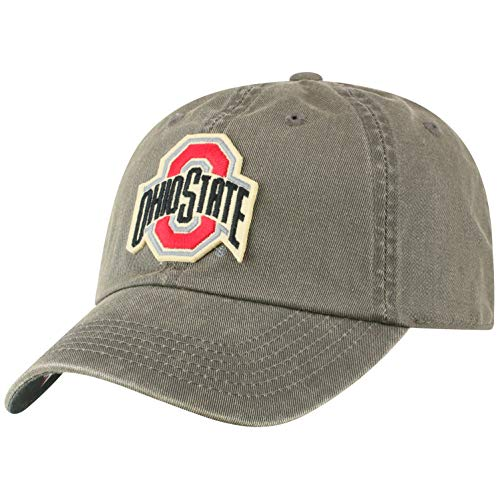 (Top of the World Ohio State Buckeyes Men's Hat Icon, Charcoal, Adjustable )