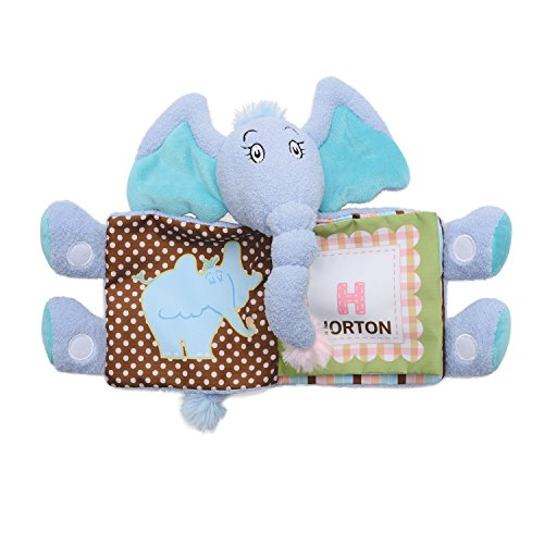 Manhattan Toy Dr. Seuss Horton Tactile Snuggle Book for $<!--$16.34-->
