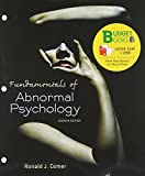 Fundamentals of Abnormal Psychology (Loose Leaf), Comer, Ronald J., 1464134707