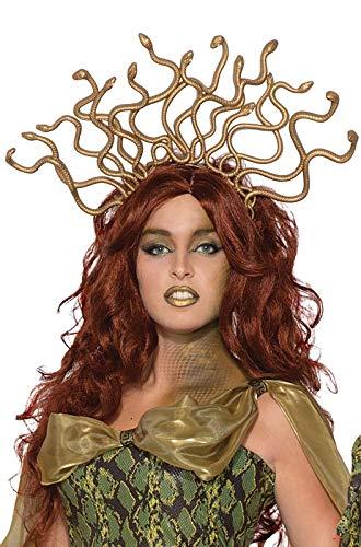 Medusa Snake Headpiece (Forum Novelties Medusa Headband - Egyptian Cleopatra Headpiece For)