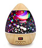 Star Projector Night Light for Kids Star and Moon Night Light Projector with Timer Colorful Baby Nursery Projector