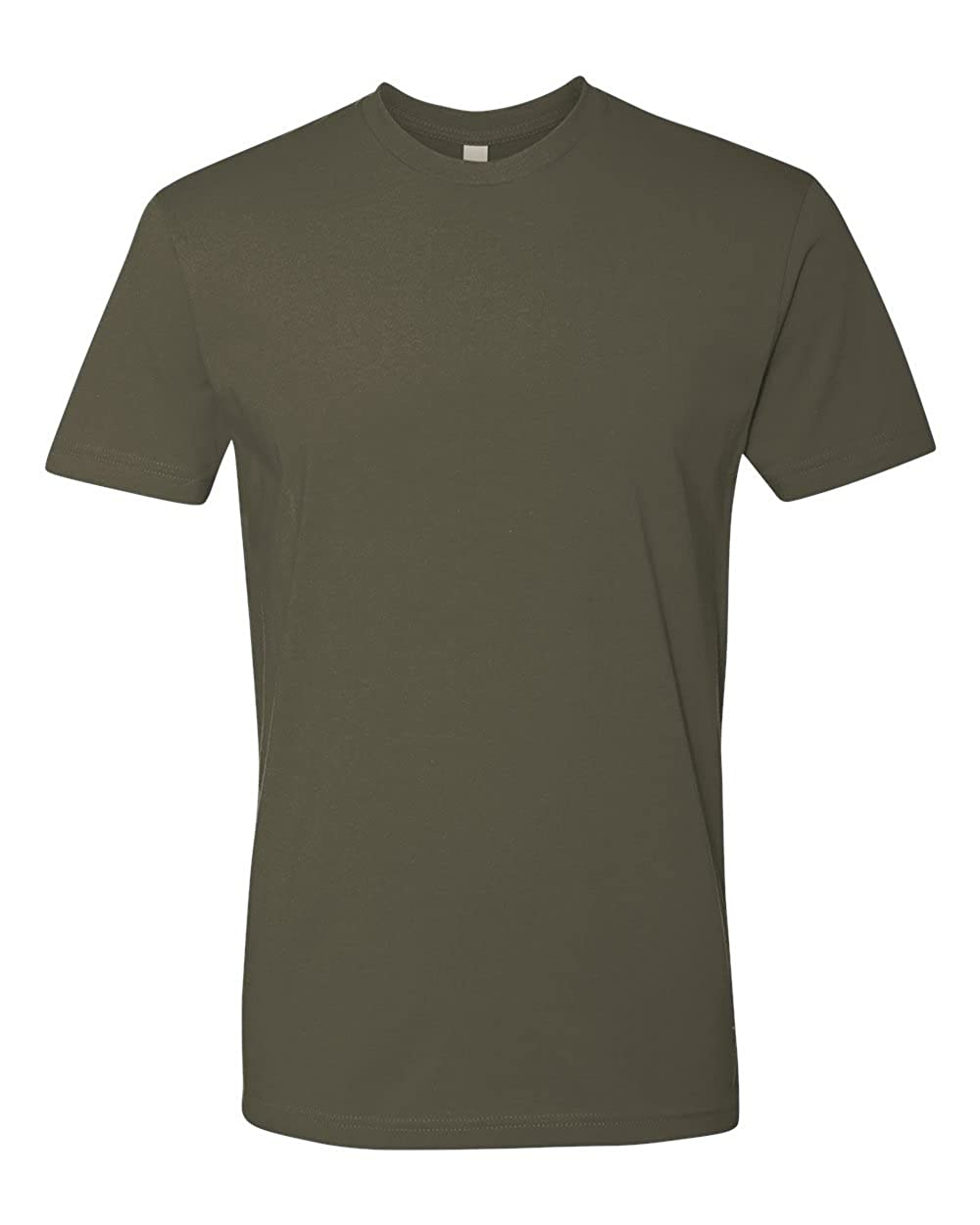Pack of 2 Next Level Mens Tri Blend Crew T-Shirt X-Large Military Green