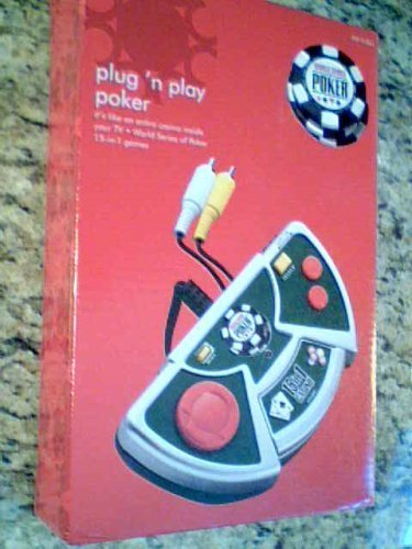 World Series Poker, Plugn Play Poker, on Tv, 15 In1 (Video Poker Slot Machines)