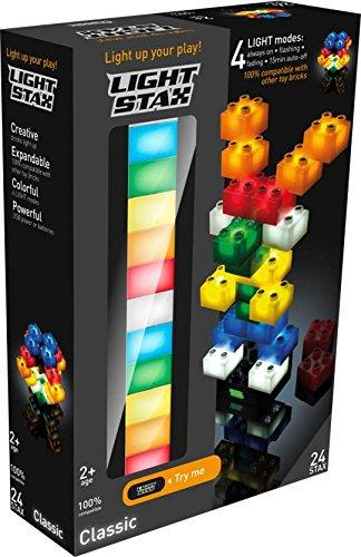 Light Stax Illuminated Blocks Classic Set (24 Pieces) ()
