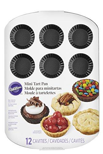 Wilton 2105-0089 12-Cavity Nonstick Tart Pan, Mini