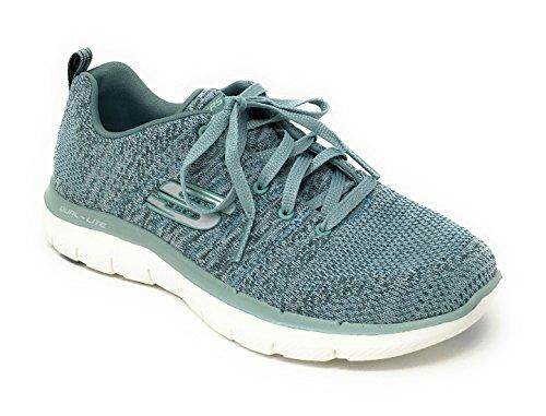 Skechers Women's Flex Appeal 2.0 Sneaker,sage,7 M US -  12756-98-7 M US