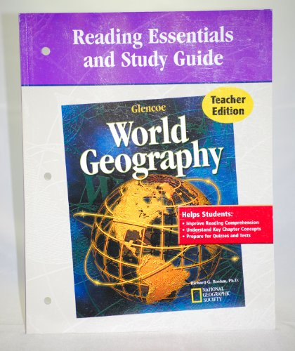 World Geography (Reading Essentials and Study Guide, Teacher Edition)