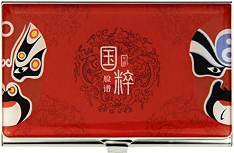 Sichuan-Gesichts-Muster-Firmennamen-Kartenhalter-Namenskarten-Kasten