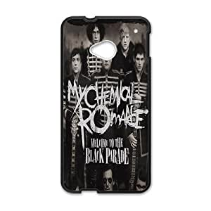 GKCB Black Parade Fahionable And Popular Back Case Cover For HTC One M7 BY supermalls