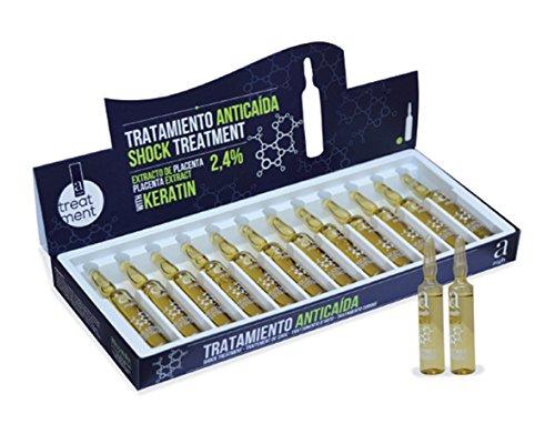 Alexandre Cosmetics Tratamiento Anticaida 12 x 10 ml Con Extracto De Placenta y Keratina