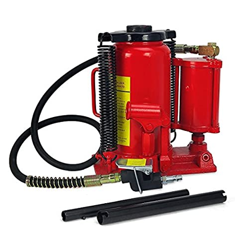 Gizmo Supply 20 Ton Low Profile Air / Hydraulic Bottle Jack - 20 Ton Air