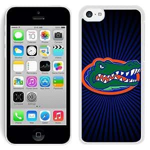 Beautiful And Unique Designed Case For iPhone 5C With Florida Gators 1 White Phone Case