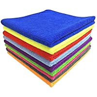 Autofurnish Microfiber Car Cleaning Cloth (Pack of 2, Multicolour)
