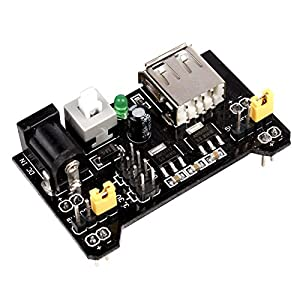 JBtek Breadboard Power Supply Module 3.3V/5V For Arduino Board Solderless Breadboard