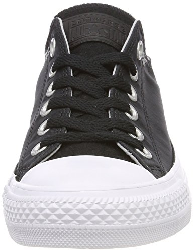 064 Converse white wolf Mixte Baskets black Ox Grey Adulte Ctas Noir vqwC4
