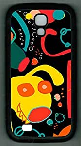 Samsung Galxy S4 I9500/I9502 TPU Supple Shell Case Cute Pattern Black Skin by Sallylotus hjbrhga1544