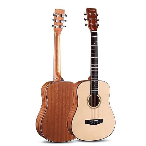 Boll-ATur Guitarra acústica clásica de 34 pulgadas, 6 cuerdas de ...