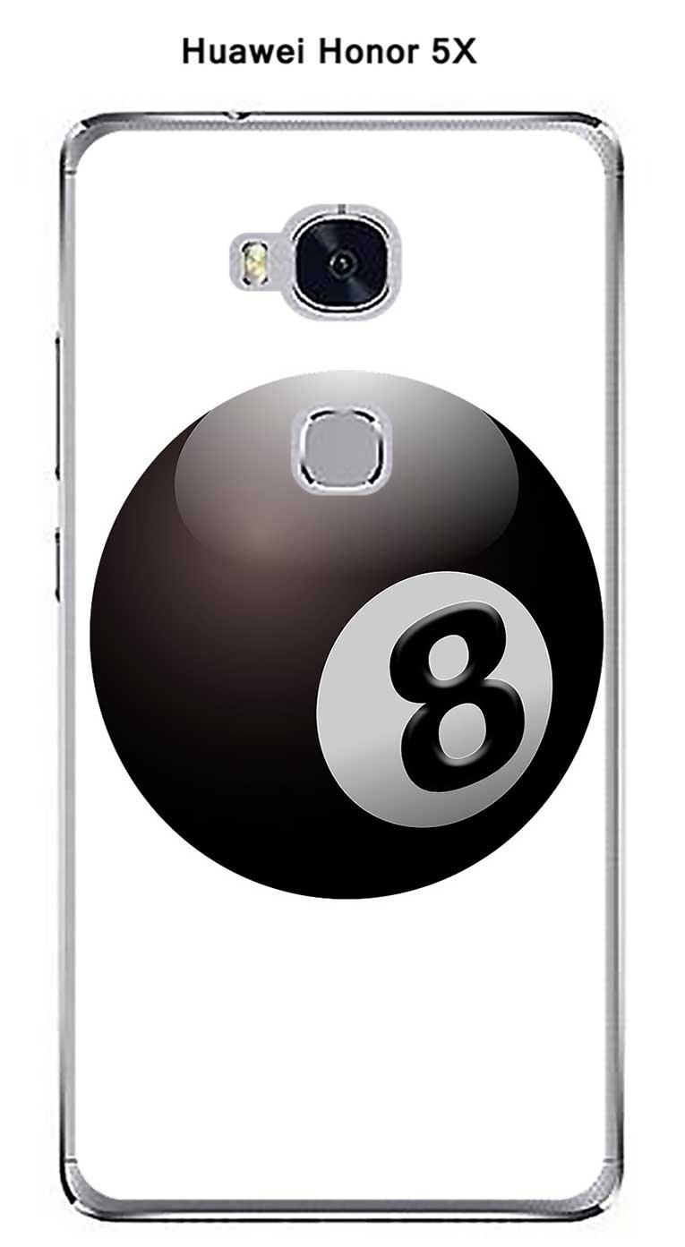 Onozo Carcasa Huawei Honor 5 X Diseño Bola de Billar N ° 8 ...