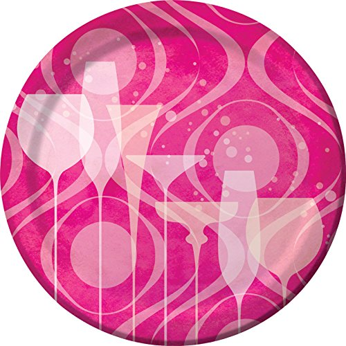 Creative Converting 8 Count Fabulous Birthday Sturdy Style Paper Dinner Plates, 8.75