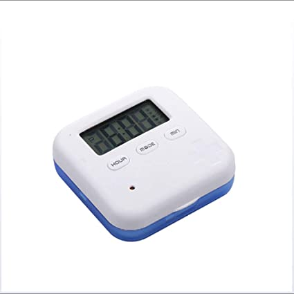 XXBF Pastillero electronico automatico, se Recuerda Que Cinco Juegos de Relojes de Alarma Son críticos