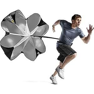 SKLZ Speed Chute Resistance Sprint Trainer - Speed Training Parachute Helps Maximize Acceleration and Top Running Speed through Resistance and Overspeed Training