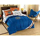 NCAA Full Size Bedding Set with Applique Comforter