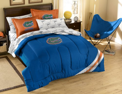 The Northwest Company NCAA Florida Gators Full Bed in a Bag with Applique Comforter