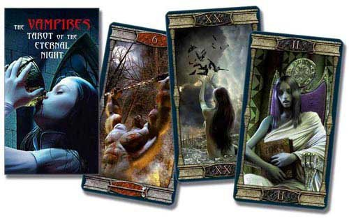 Party Games Accessories Halloween Séance Tarot Cards Vampire Eternal Night tarot by Barbara Moore by AzureGreen