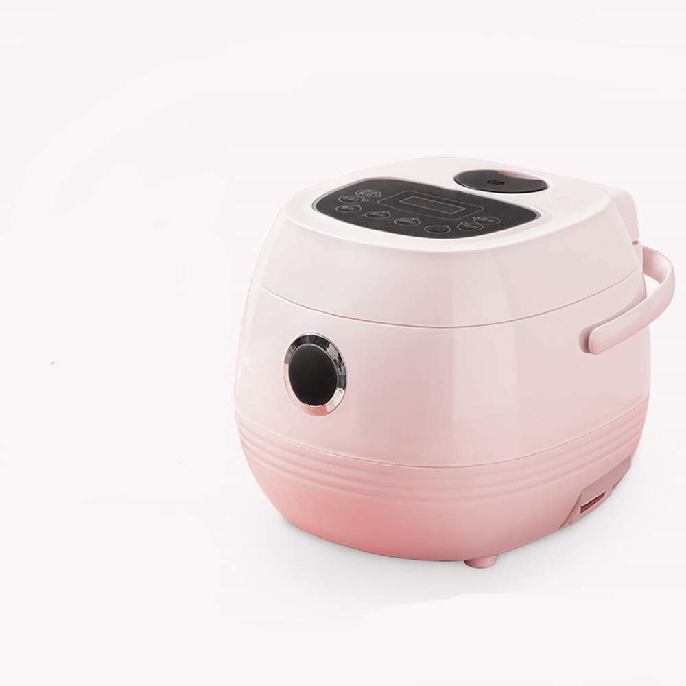 NBLL 1.2L Small Rice Cooker, Multi-Function one-Key Household Rice Cooker, Dormitory Mini Smart Rice Cooker-Pink