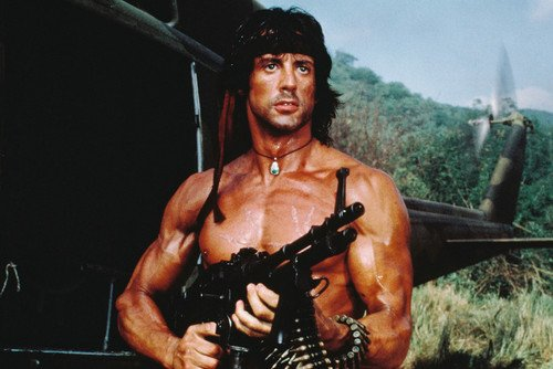- Sylvester Stallone Rambo: First Blood Part Ii Clr 24X36 Poster