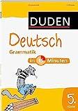 Duden - Deutsch in 15 Minuten - Grammatik 5. Klasse