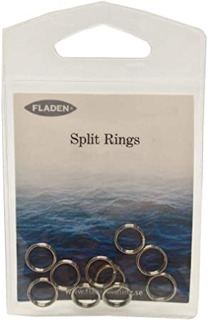 Fishing Split Rings 8mm for Sea Fishing Rigs Lures Plugs Spinners Pirks Pike