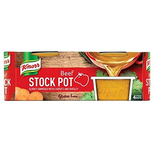 Knorr carne de vaca Stock Pot 4 x 28g
