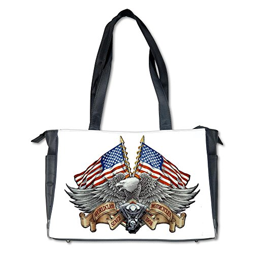 Diaper Bag Eagle American Flag Motorcycle Engine
