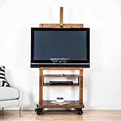 Hives and Honey 8008-137 Cullen TV Stand, 32 x 19 x 75, Oak