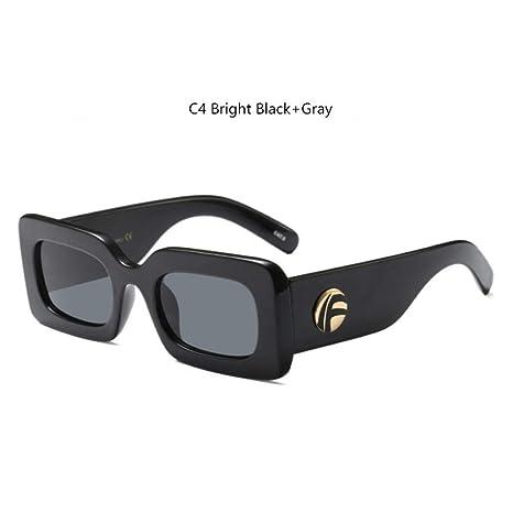 KCJKXC Gafas De Sol Mujer Gafas De Sol Retro Marca Naranja ...