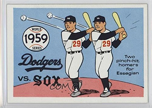 Chicago White Sox Team; Los Angeles Dodgers Team; Chuck Essegian Chicago White Sox Team, Los Angeles Dodgers Team, Chuck Essegian (Baseball Card) 1970 Fleer Laughlin World Series - [Base] - Laughlin Images