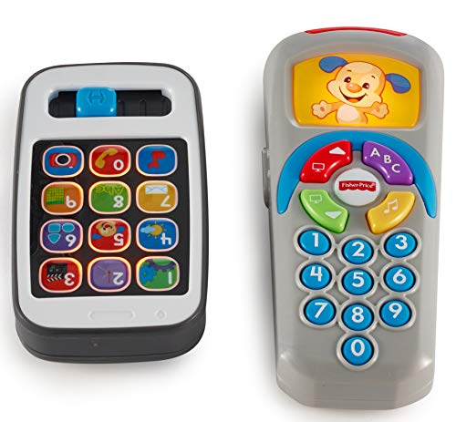 - Fisher-Price Laugh & Learn Gift Set, Smartphone and Remote [Amazon Exclusive]