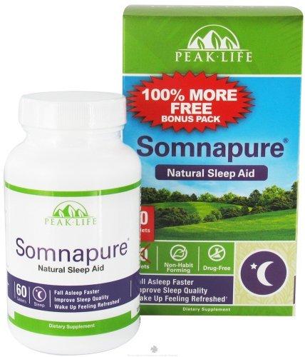 Pic vie - Somnapure sommeil naturel aide Bonus Pack - 60 Tablet (s)