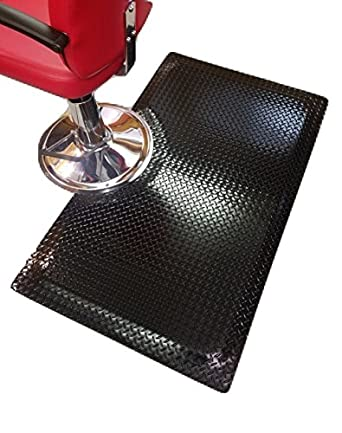 Amazon Com Rhino Mats Ss 3660rbk Sport Salon Anti Fatigue