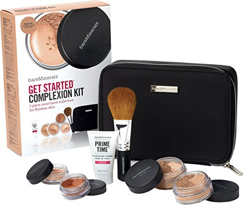 bareMinerals Get Started Complexion Kit Medium Tan (Bare Mineral Get Started Kit)