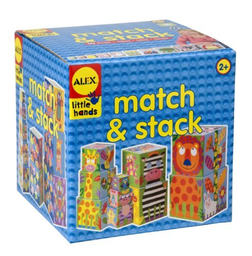 Alex Toys Early Learning Match and Stack Little Hands by Alex