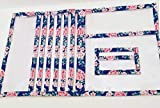 Navy Floral JW Complete Ministry Organizer