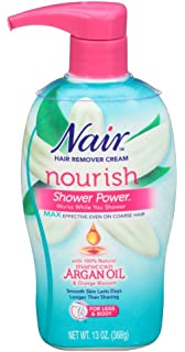 Amazon.com: Nair ducha Power Max con aceite de argán ...