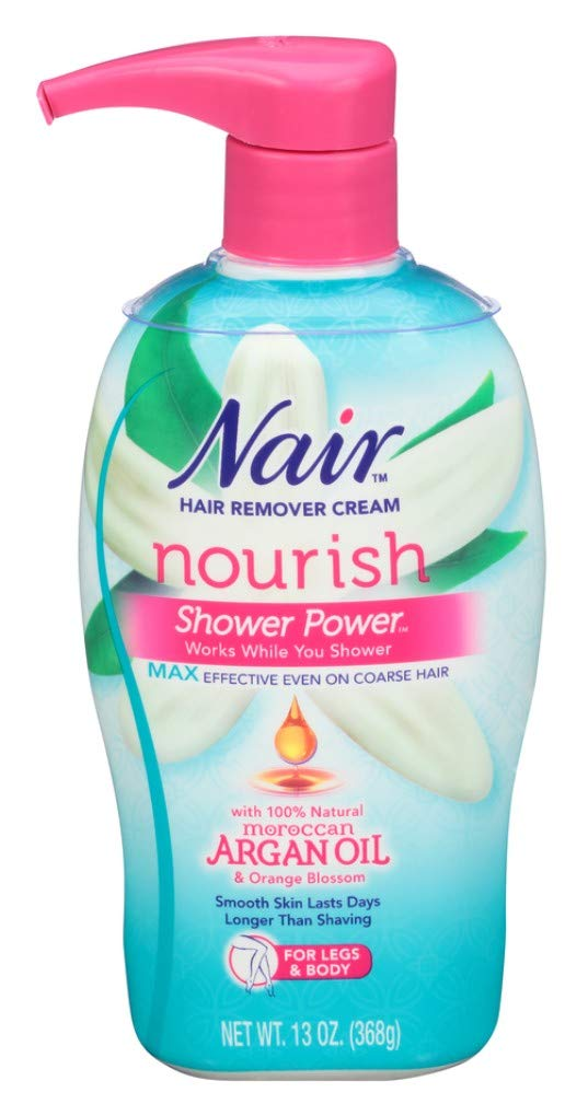 Nair Shower Power Max with Moroccan Argan Oil, 13 oz DL-388