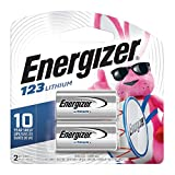 Photo : Energizer 123 3V Lithium Battery, 2 Count