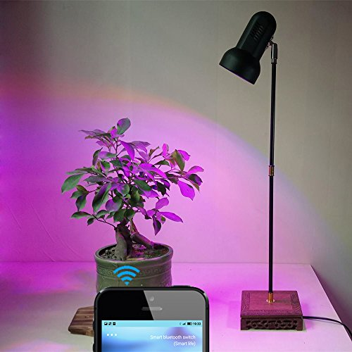 30W Full Spectrum LED Plant Grow Lights Stand 70cm Desk L...