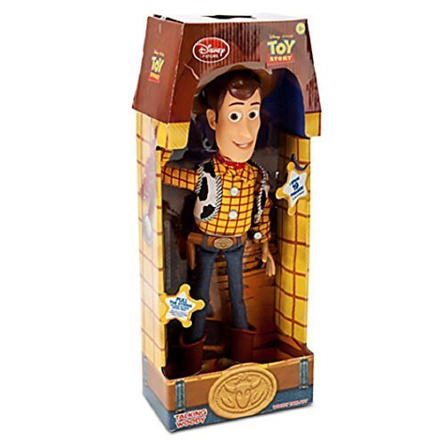 Toy Story Pull String Woody 16″ Talking Figure – Disney Exclusive image